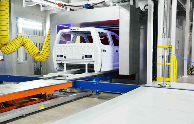 produkcja centrum testowe Dürr