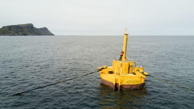 Jotun energia fal morskich Waves4Power