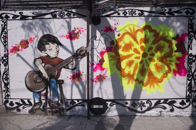 mural Meksyk film Coco