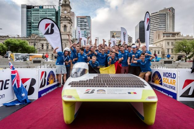Cromax Punch Powertrain Bridgestone World Solar Challenge