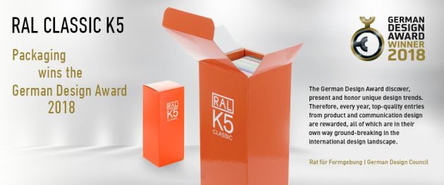 RAL Colours German Design Award