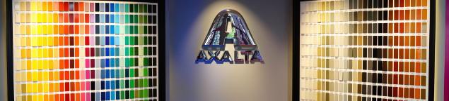axalta powder colour experience room