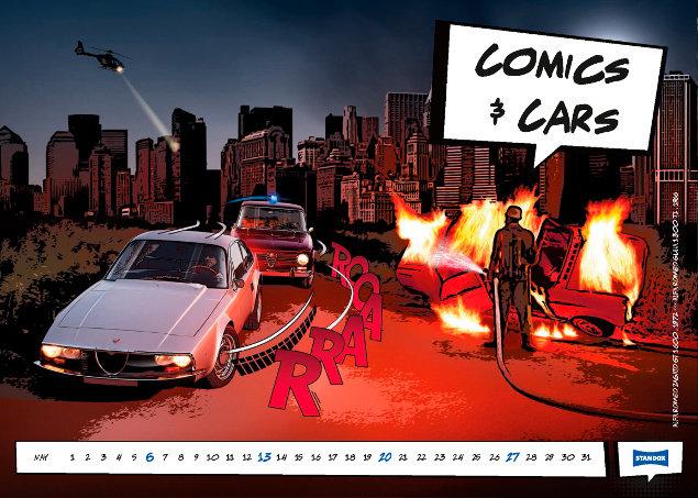 standox comics calendar 2018 May