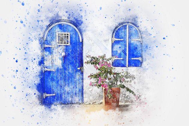 drzwi kolor Resene