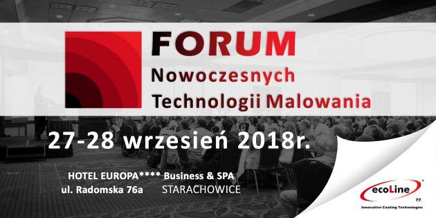 Eco-Line Forum NTM Forum Nowoczesnych Technologii Malowania