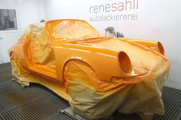 Standox Porsche renowacja