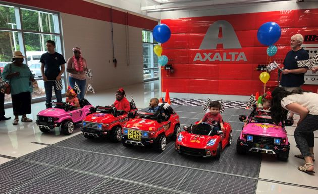 Axalta dzieci problemy ruchowe