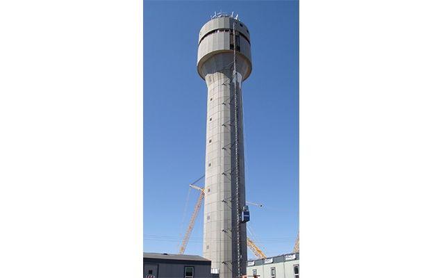 Tex Cote farby wieża kontrolna lotnisko
