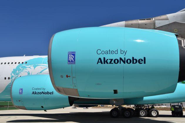 AkzoNobel farby na samoloty
