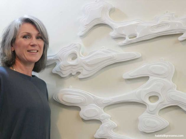 Claire Jensen waste art Resene
