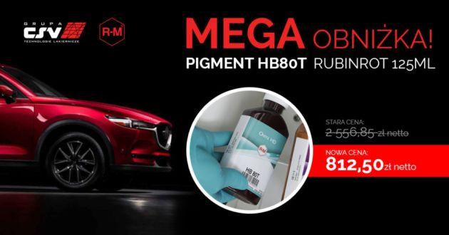 Grupa CSV pigment Rubinrot promocja