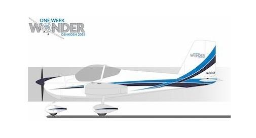 One Week Wonder Sherwin-Williams samolot