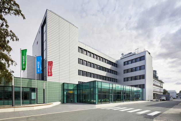 BASF laboratorium modularne Lean Lab Monachium