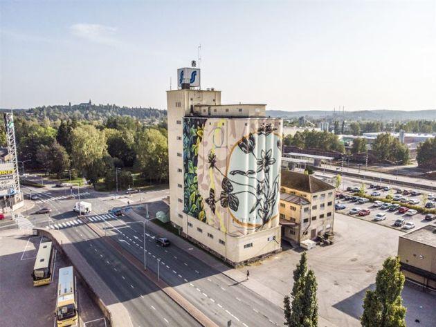 festiwal sztuki ulicznej UPEA18 Finlandia Tikkurila