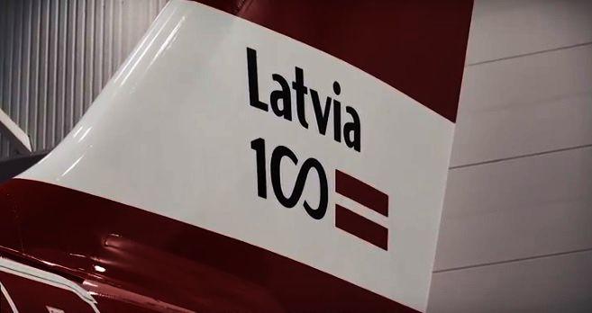 AkzoNobel Łotwa samolot airBaltic
