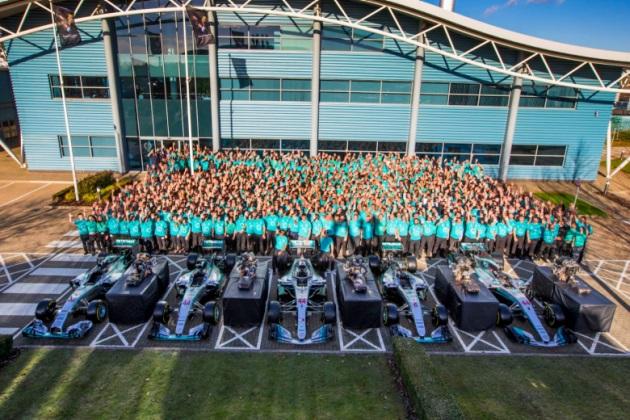 Axalta Mercedes-AMG Petronas Motorsport