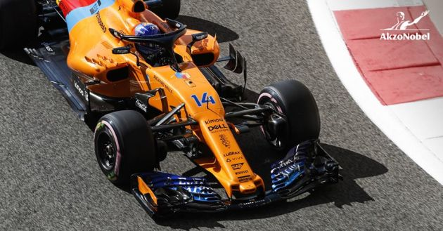 McLaren bolid Fernando Alonso