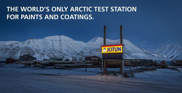Jotun stacja testowa Svalbard Arktyka