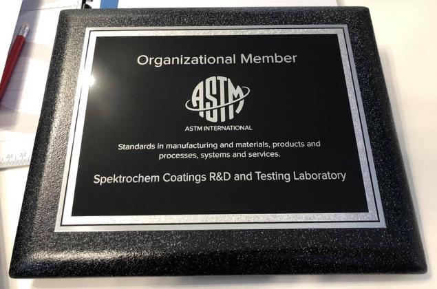 ASTM normy badanie Spektrochem