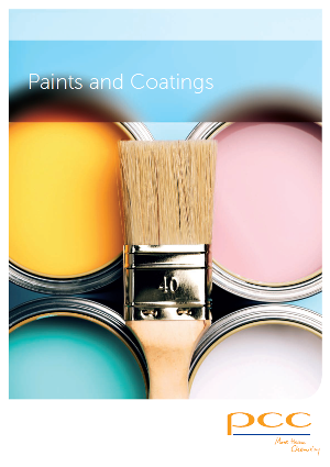 PCC rokita raw materials paints coatings brochure