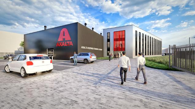 Axalta new facility Tiel Netherlands training spies hecker standox cromax