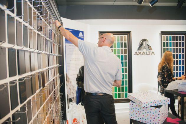 Axalta Coating Systems Experience Room Londyn