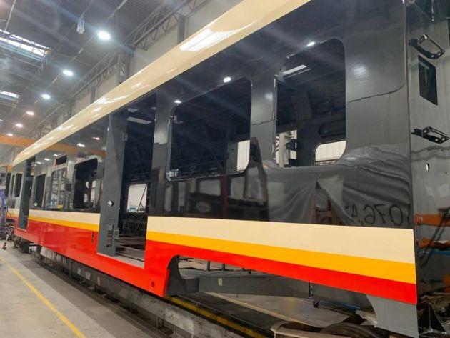 lakiery PCC pociągi SKM