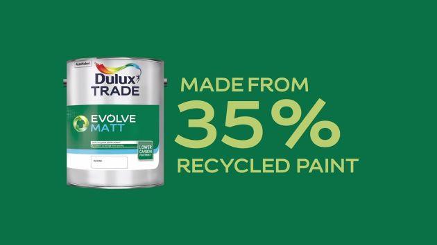 AkzoNobel farba z recyklingu