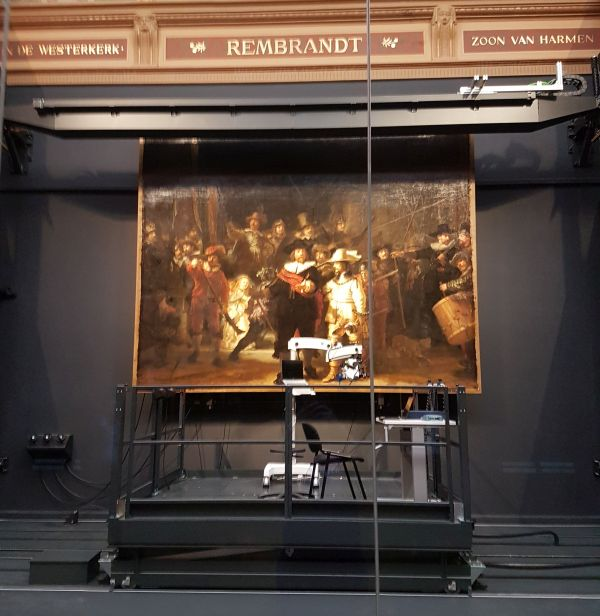 AkzoNobel Rijksmuseum Operacja Straż Nocna