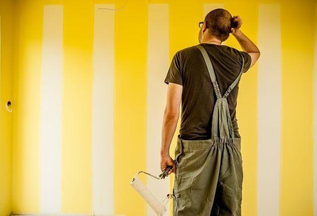 roboty pomalują ściany