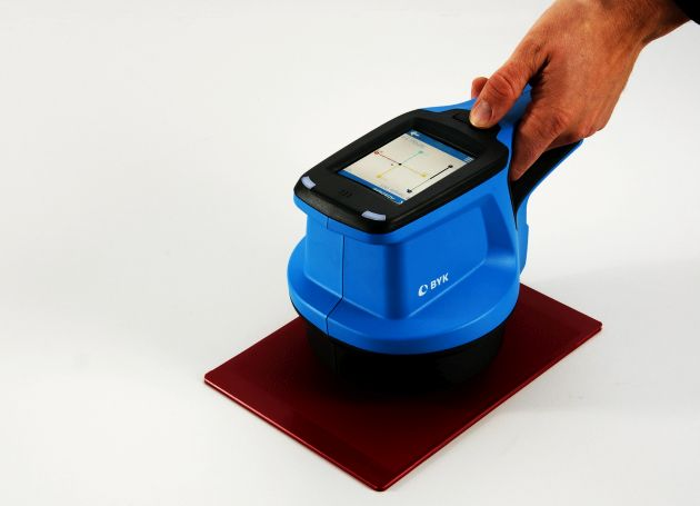 spectro2profiler jakość tekstury powłoka proszkowa