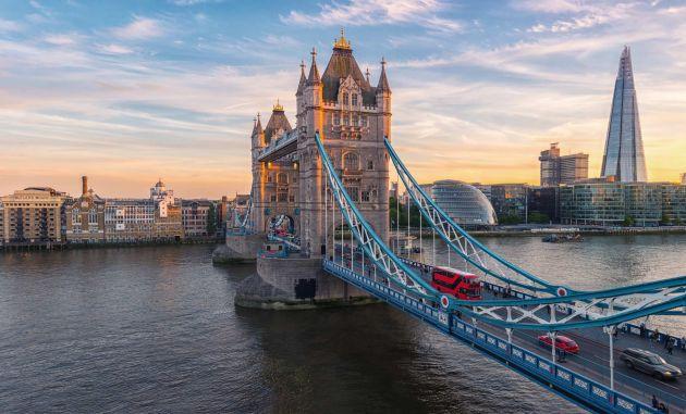 Tower Bridge farby Hempel