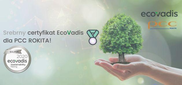 PCC Rokita certyfikat EcoVadis