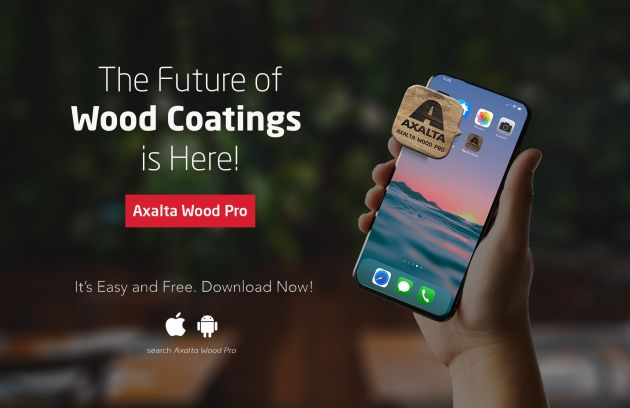 aplikacja Wood Coatings Pro Axalta Coating Systems