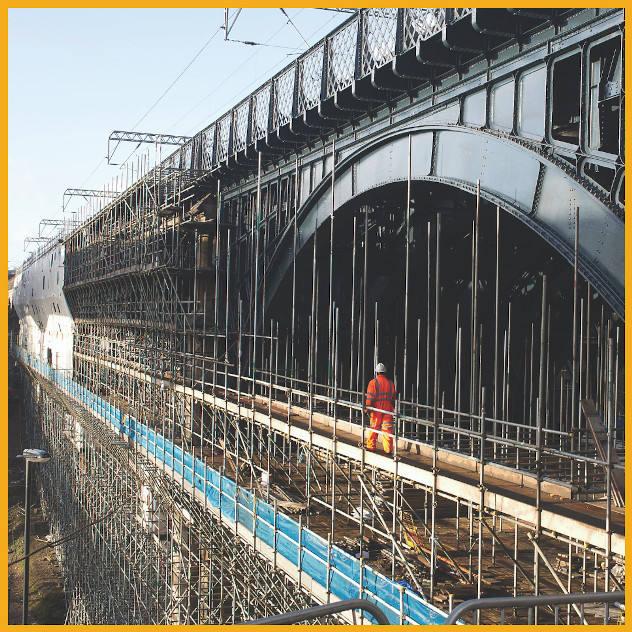 Ouseburn viaduct jotun coatings jotmastic hardtop XP