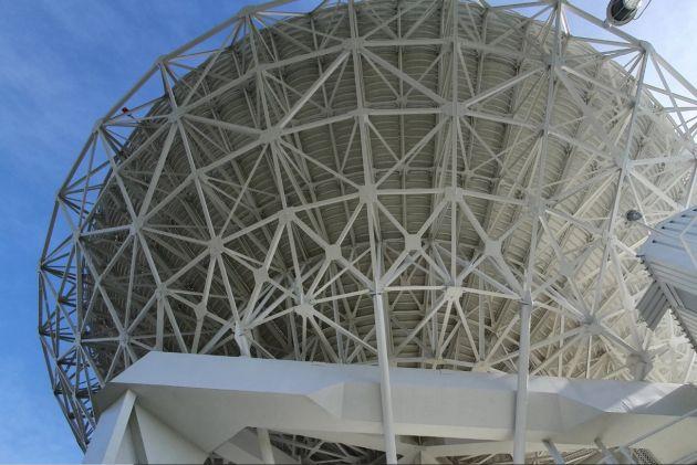 radioteleskop w Piwnicach Sika