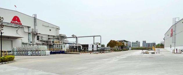 Axalta ekologiczna produkcja Chiny