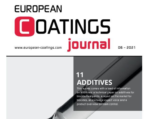 European Coatings Journal dodatki