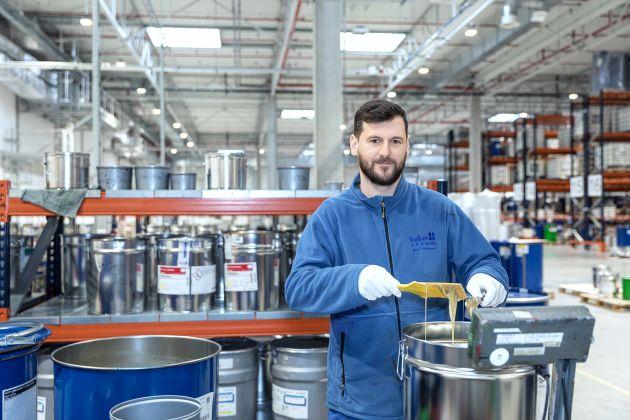 Hubergroup fabryka Polska
