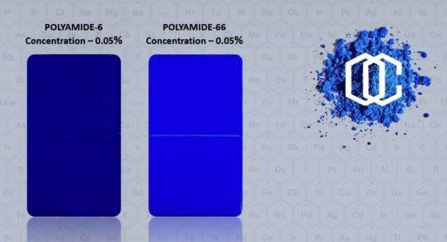 Orient niebieski pigment