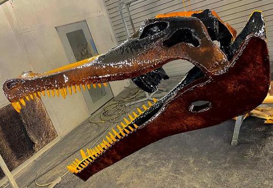 szkielet dinozaura HMG Paints